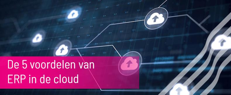 5 voordelen ERP in cloud